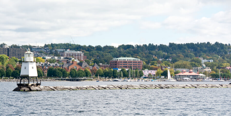 Burlington, Vermont is the largest city in the state