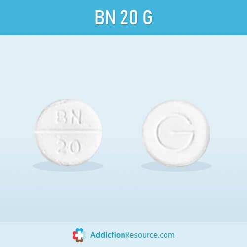 Baclofen BN 20 G