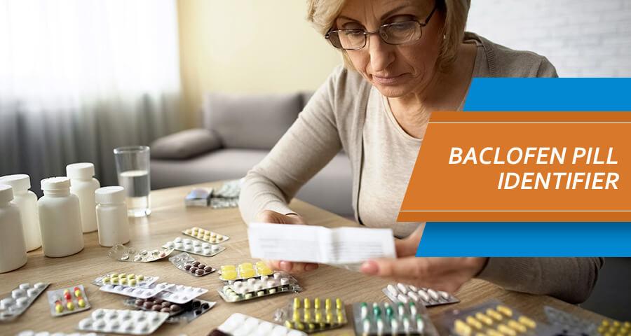 Baclofen Pill Identifier