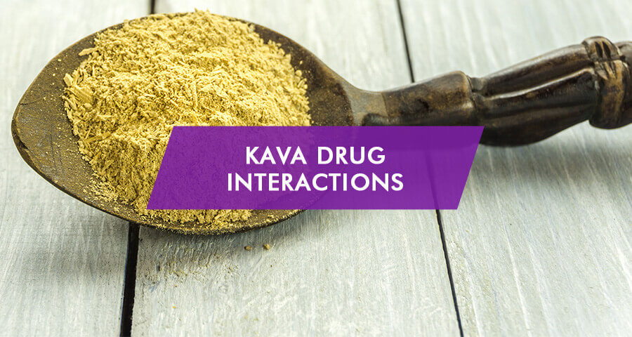 drug interactions of kava