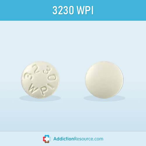 Meloxicam 3230 WPI pill