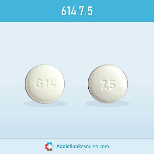 Meloxicam 614 7.5 pill