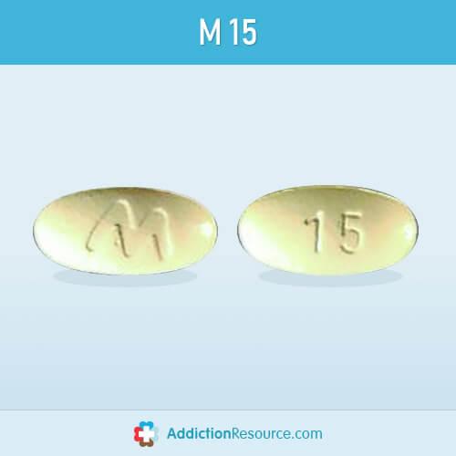Meloxicam M 15 pill