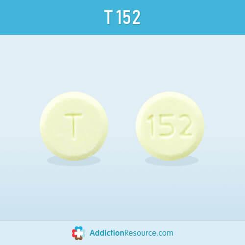 Meloxicam T 152 pill image