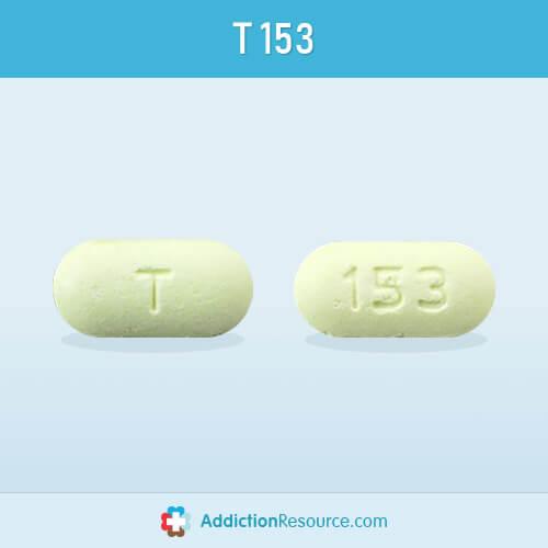 Meloxicam T 153 pill