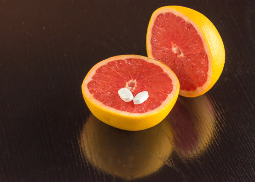 grapefruit and pills interaction