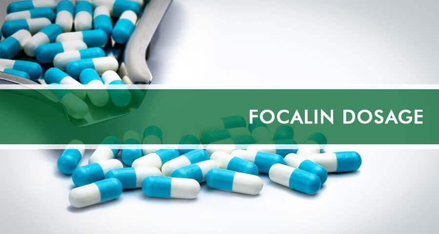 Focalin dosage