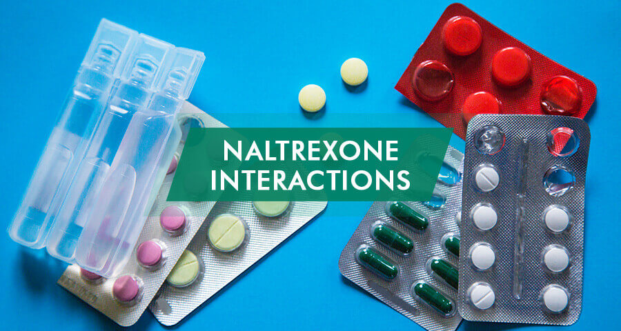 naltrexone drug interactions