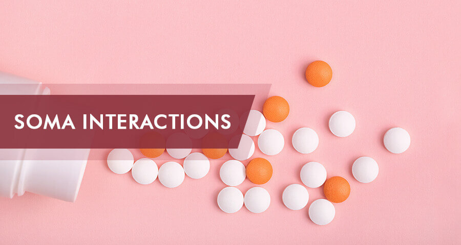 soma drug interactions