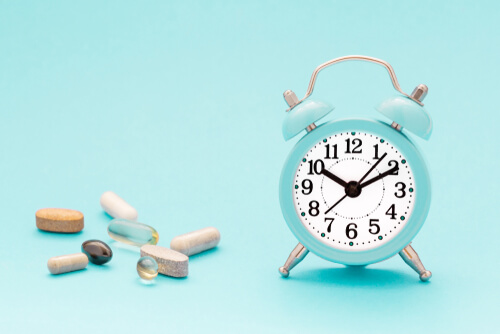 soma pills and alarm clock