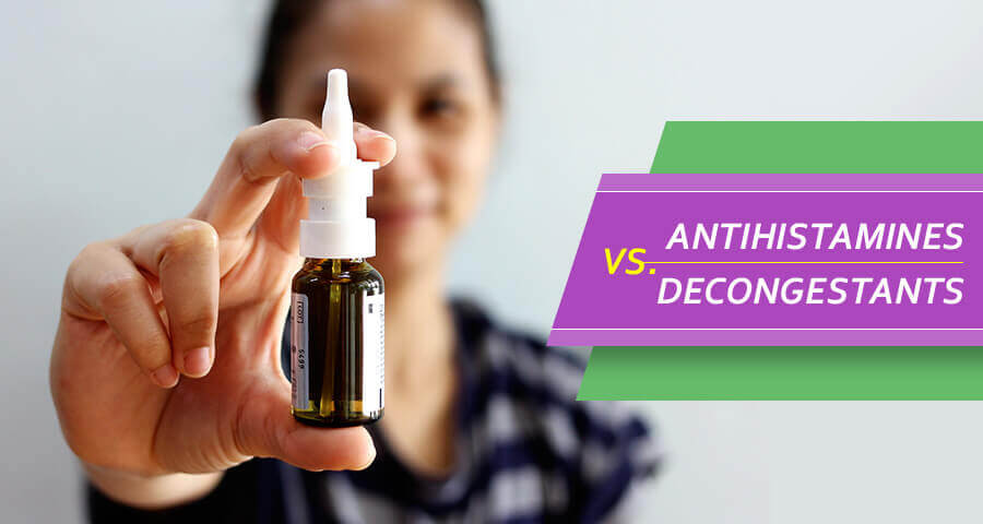 antihistamine vs decongestant