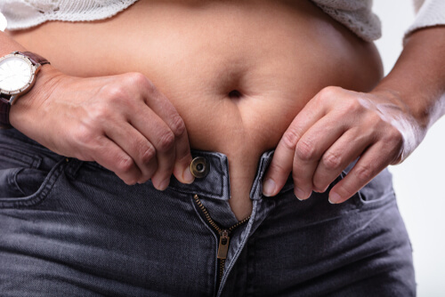 Wellbutrin can cause fat gain on hips