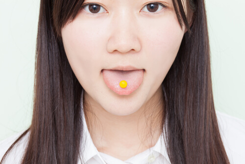 teen girl taking phenobarbital