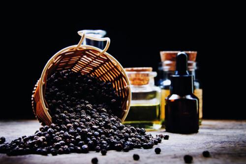 black papper for dxm potentiation