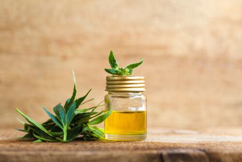 CBD oil hemp muscle relaxer