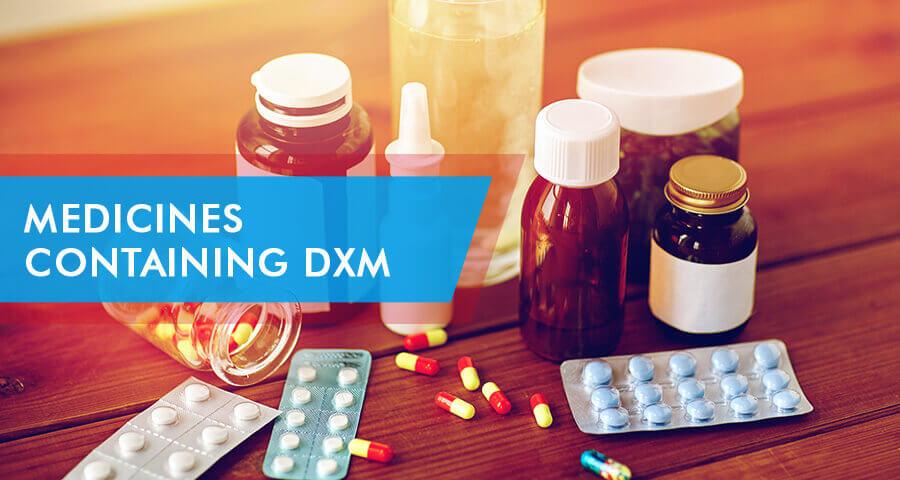medicines containing dxm