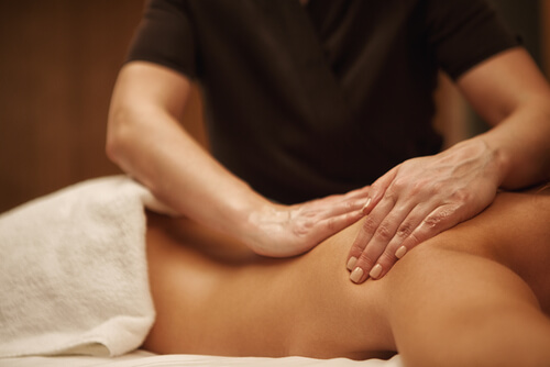 full body massage instead muscle relaxants