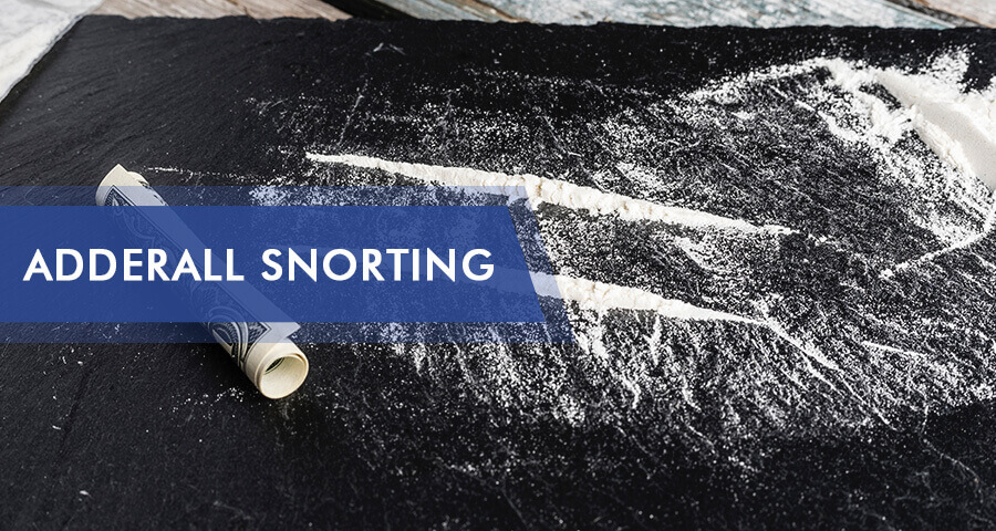 snorting adderall dangers