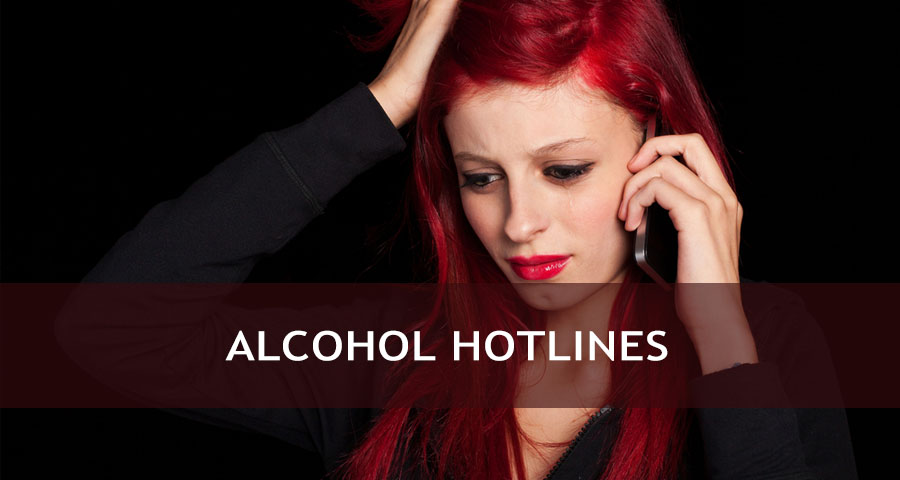 A call to alcohol hotline