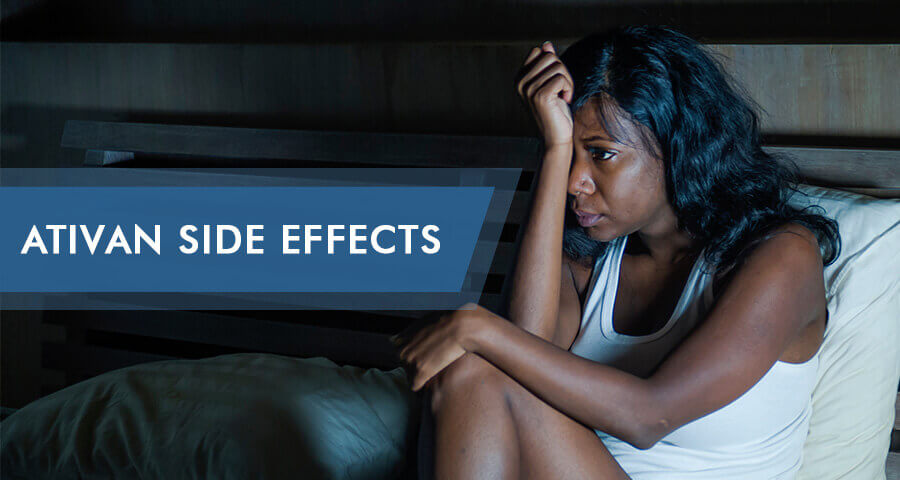 side effects of ativan