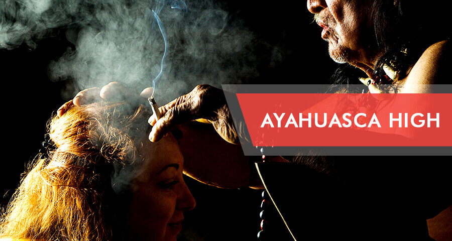 getting high on ayahuasca