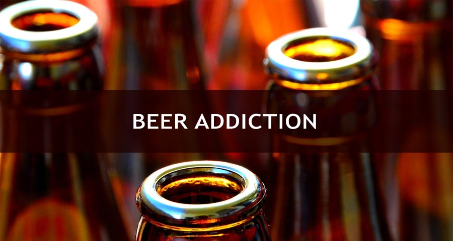 Beer Addiction signs
