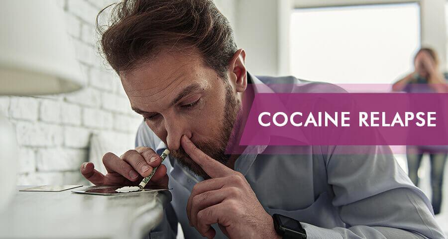 Cocaine relapse symptoms