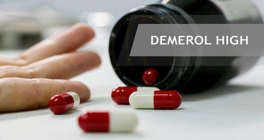 dangers of demerol high