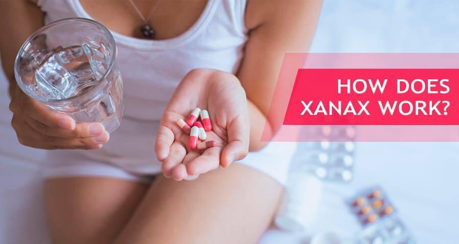 xanax mechanism of action