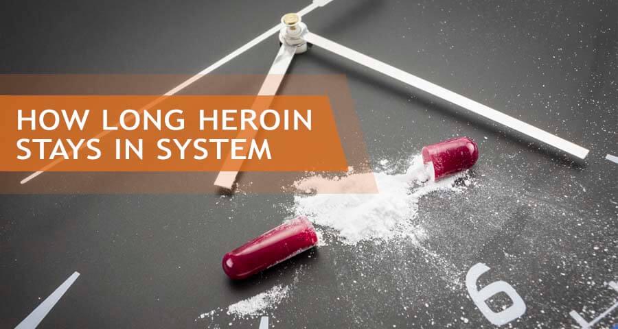 heroin half-life time