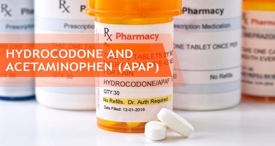 hydrocodone apap or combination with acetaminophen