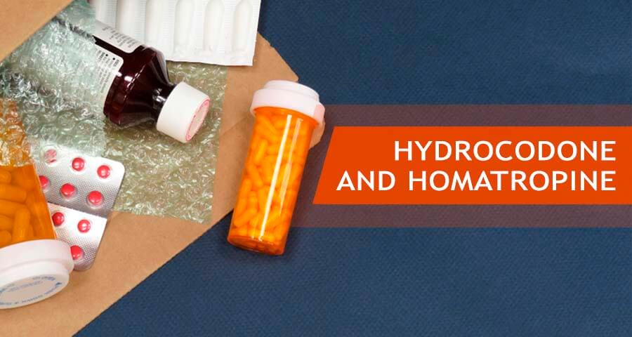 hydrocodone combination with homatropine