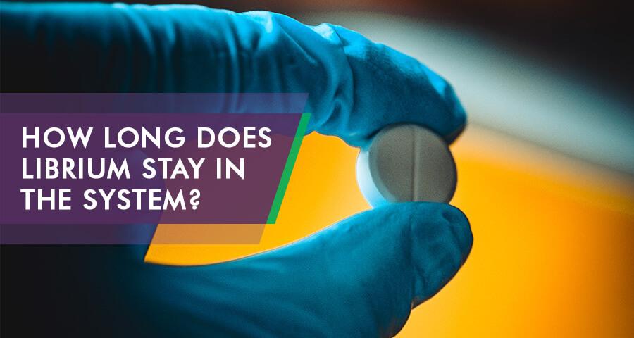 Librium on drug testing