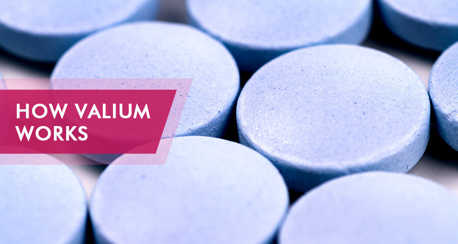 how valium works in the body