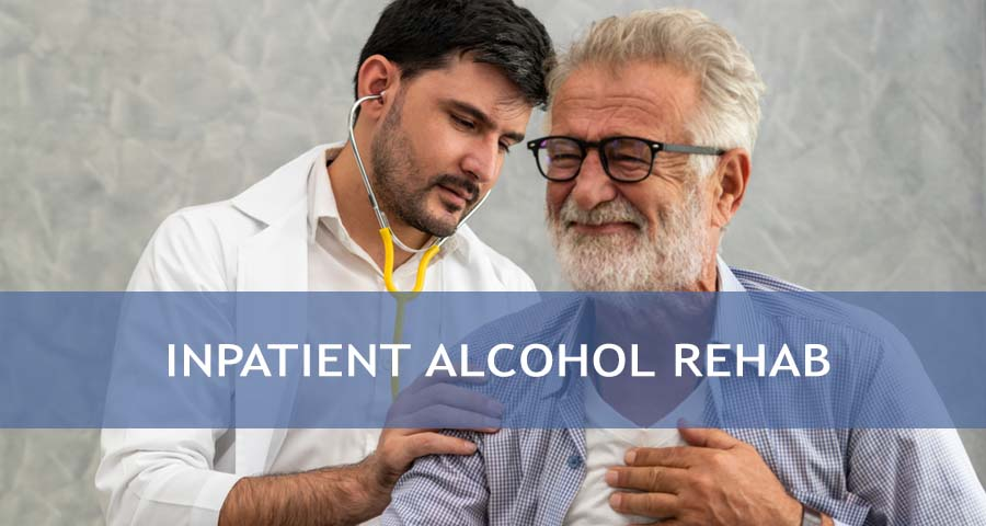 patient in Alcohol Rehab
