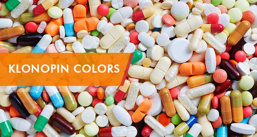 klonopin pills and capsules
