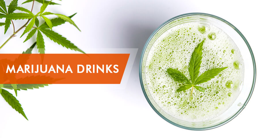 marijuana drinks