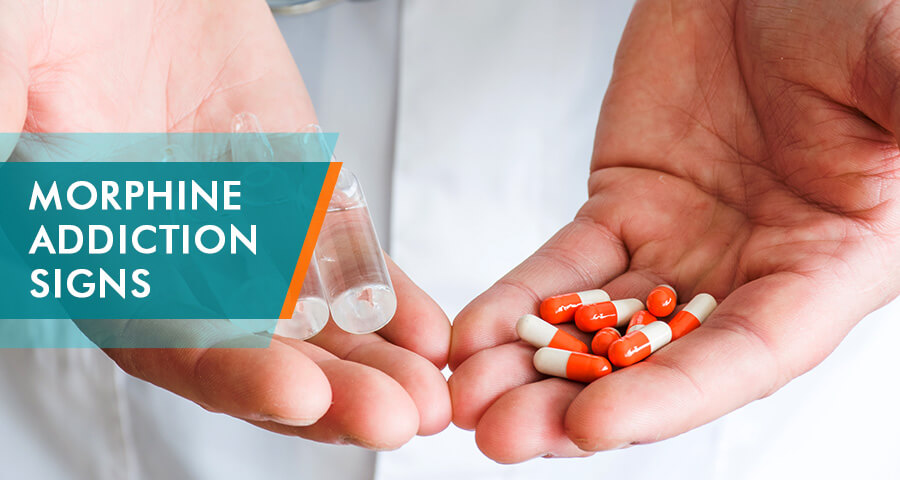 Morphine Addiction Signs and symptoms