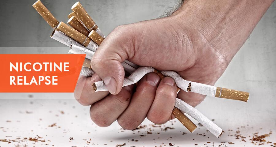 relapse on nicotine
