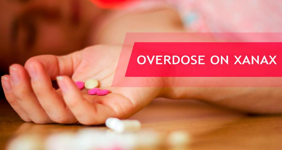 xanax overdose signs