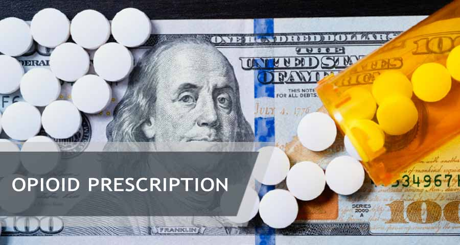 opioids and a banknote