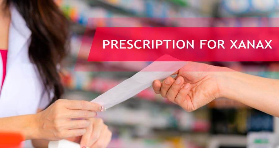 xanax prescription
