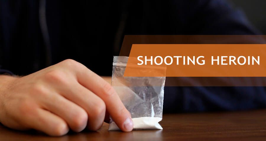 what is heroin shooting