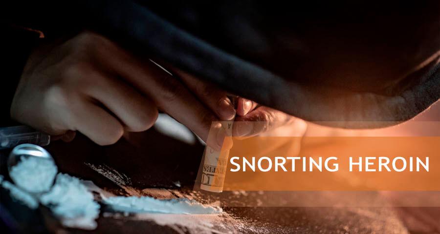 dangers of snorting heroin