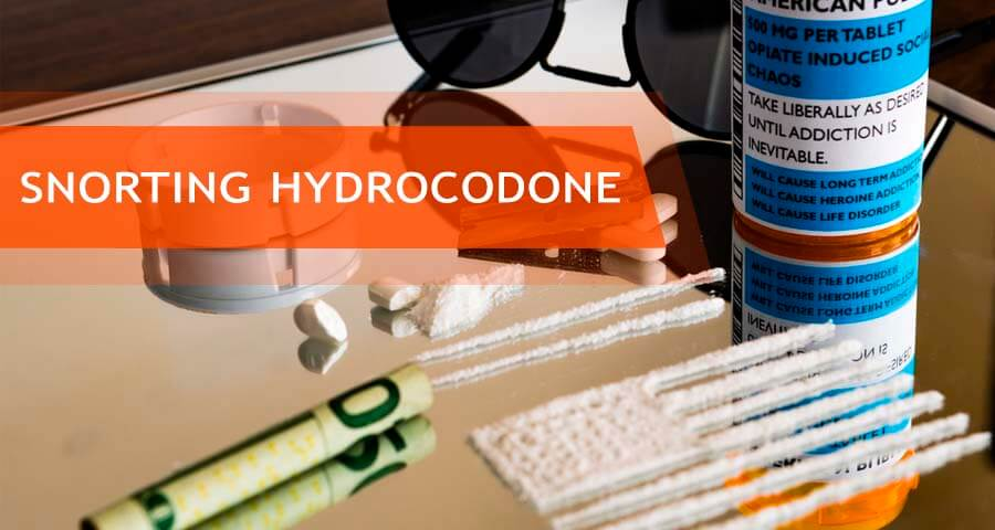 dangers of snorting hydrocodone