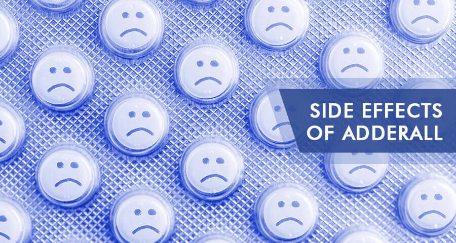 adderall short and long term side effects