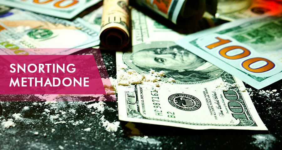 snorting methadone