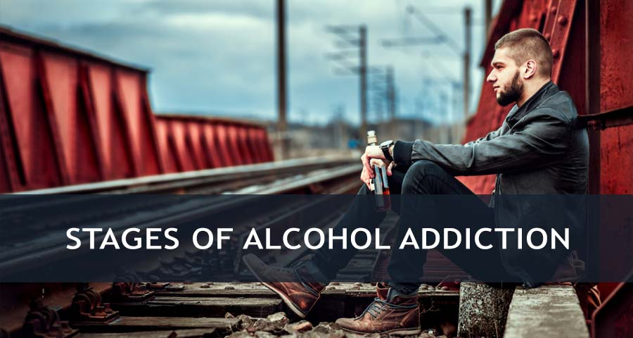 4 Stages of Alcohol Addiction