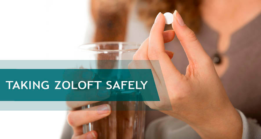 safe ways of taking zoloft
