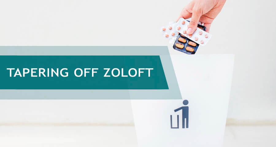how to taper off zoloft